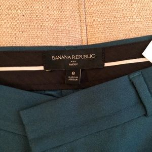 New! Emerald Green Banana Republic Dress Pants